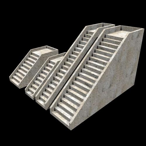 Medieval Modular Design: Stairs preview image