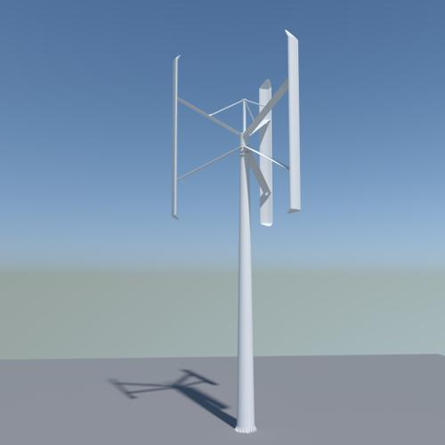 Small wind turbine preview image