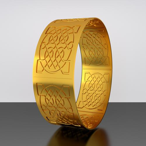 Celtic Knot Bangle v2 preview image