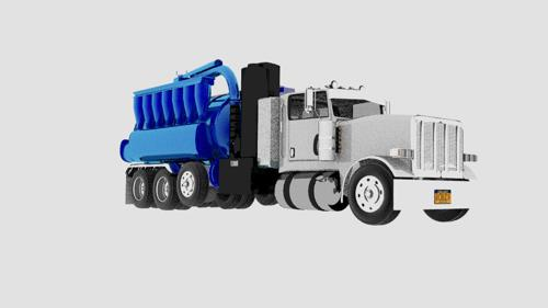 Industrial vacuum truck preview image