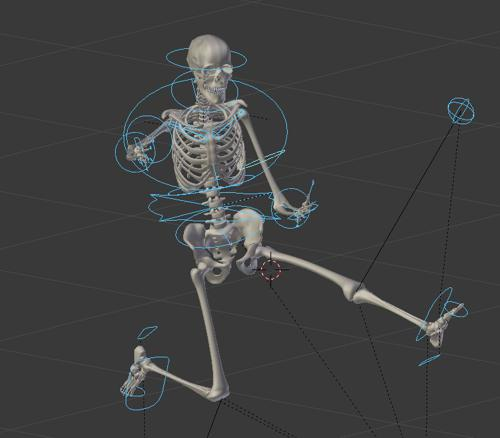 Human Skeleton Rigged preview image