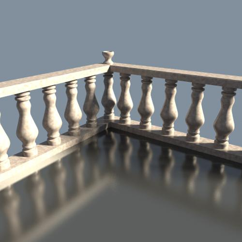 Marble fence preview image