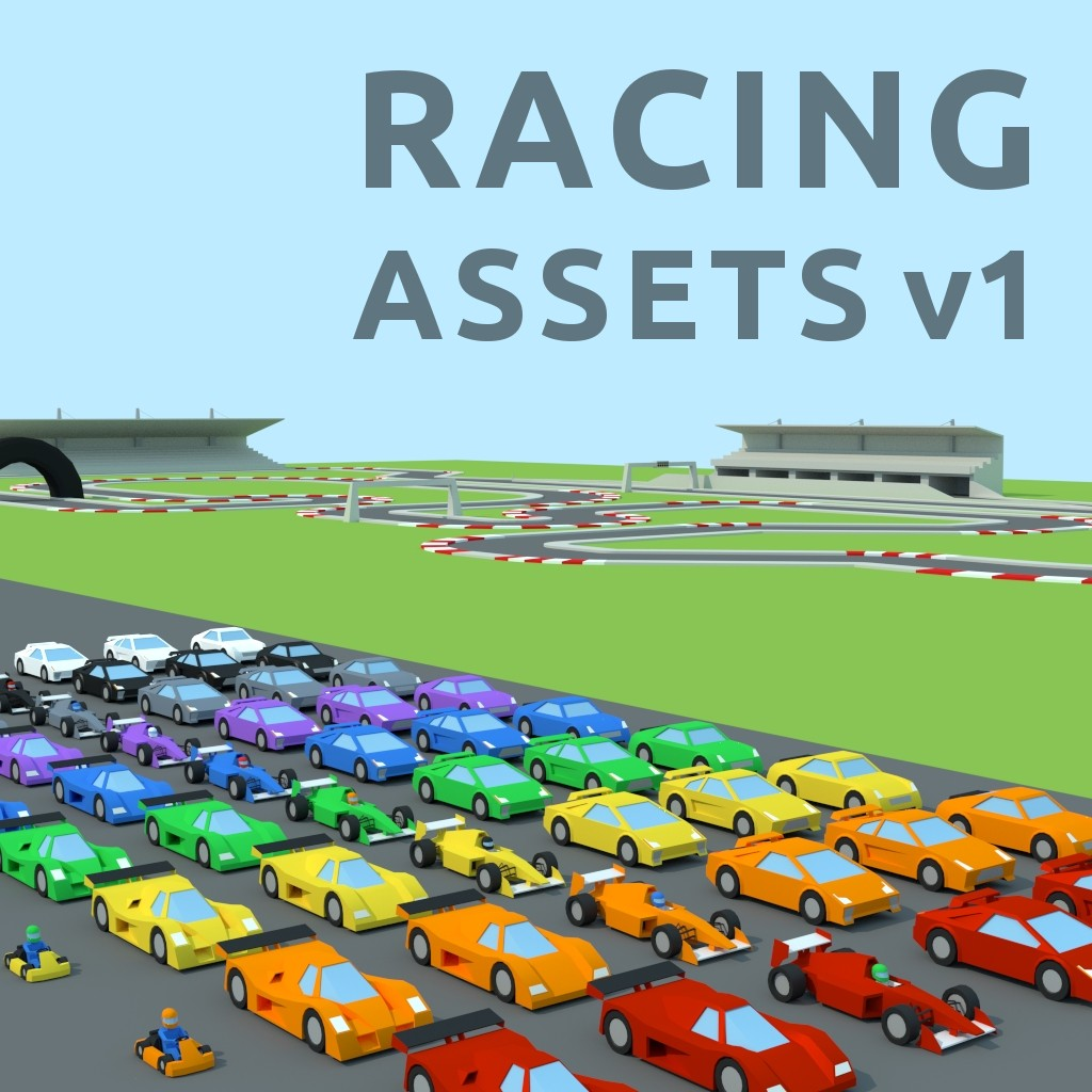 Racing Assets v1 preview image 1