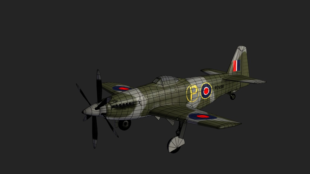 Aircraft Martin Baker MB5 preview image 2