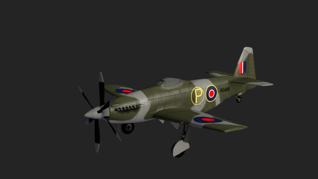 Aircraft Martin Baker MB5 preview image 1