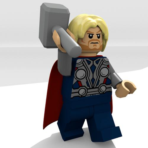Lego Marvel Thor preview image