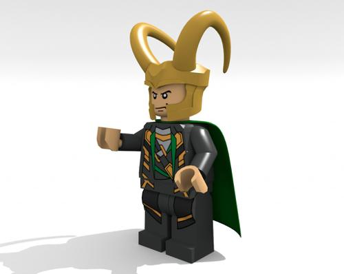 Lego Marvel Loki preview image
