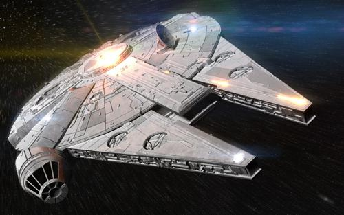 Millennium Falcon - Cycles preview image