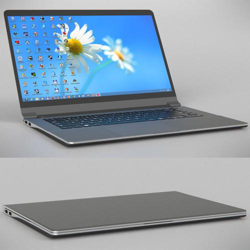 Slim design notebook  preview image