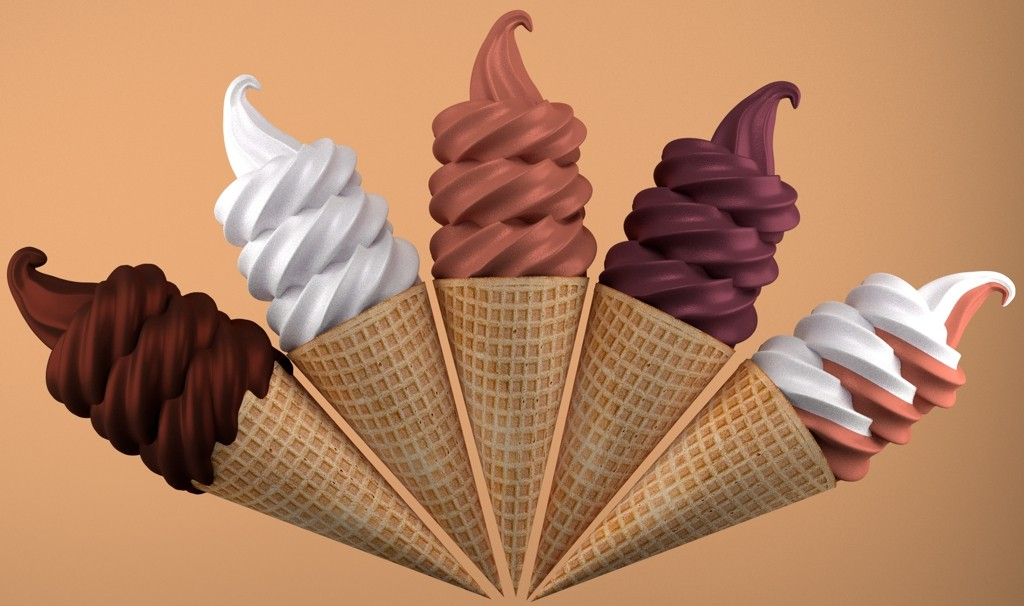 Ice cream cones preview image 1