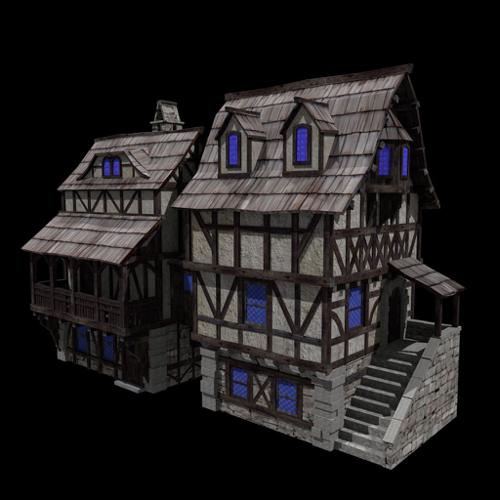 Medieval houses preview image