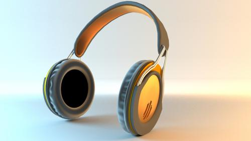 Modern Headphones preview image