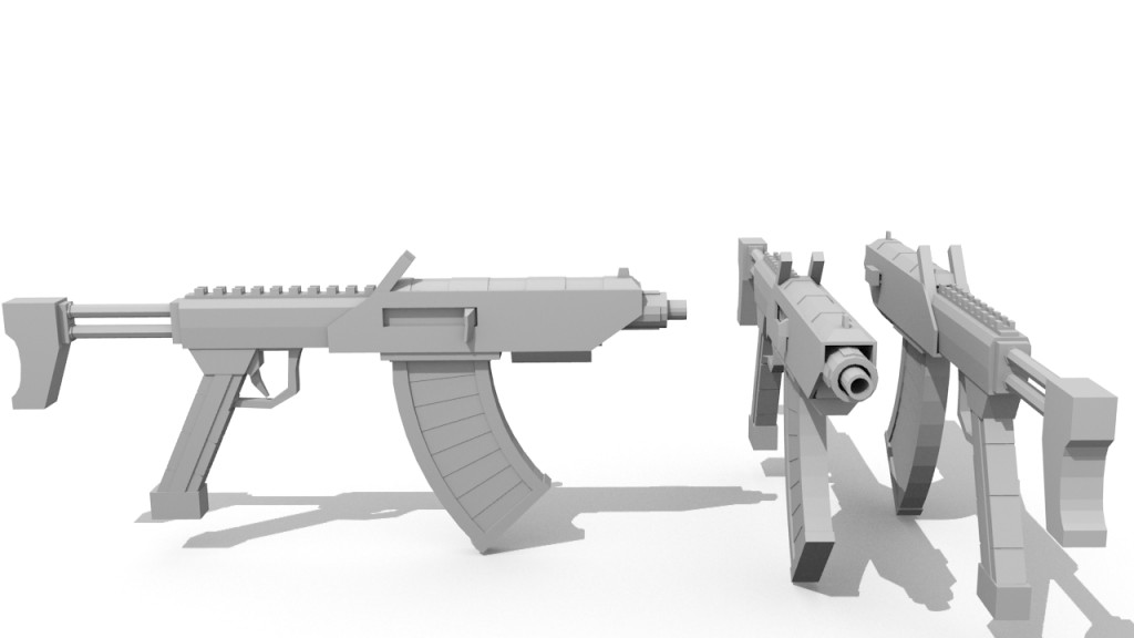 The Jackal (untextured) - Rigged! preview image 1