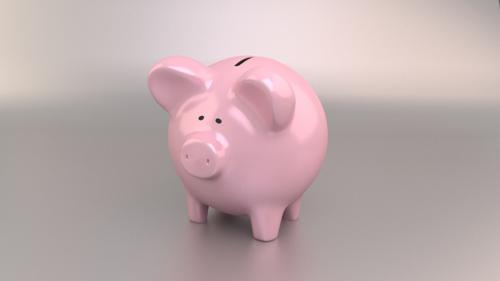 Piggy bank pig preview image