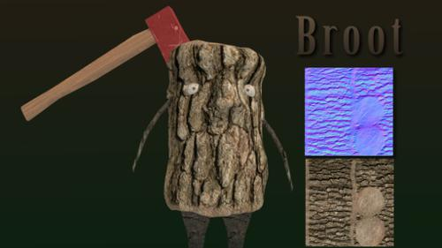 Broot - Little Tree Creature preview image
