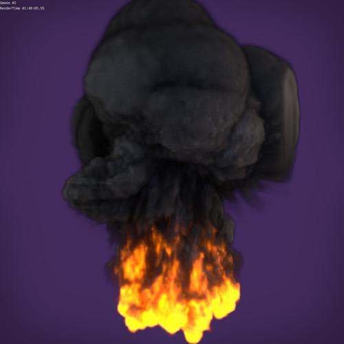 Fire Simulation #2 (Cycles) preview image
