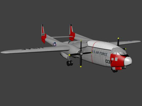 "Fairchild C-119 ""Flying Boxcar"" preview image"