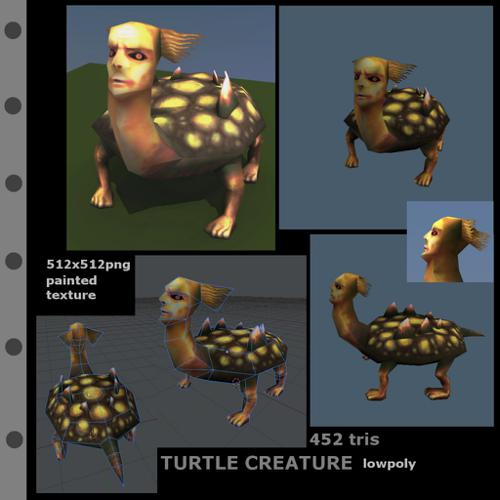 Turtle creature preview image