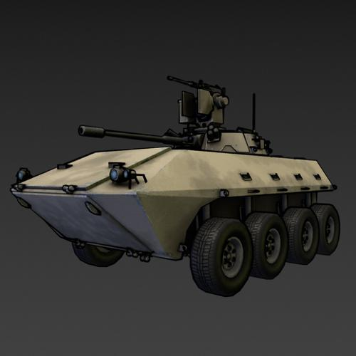 Vehicle IFV DMM07 preview image