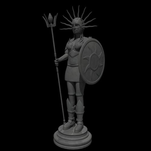 Sun Goddess Statue preview image