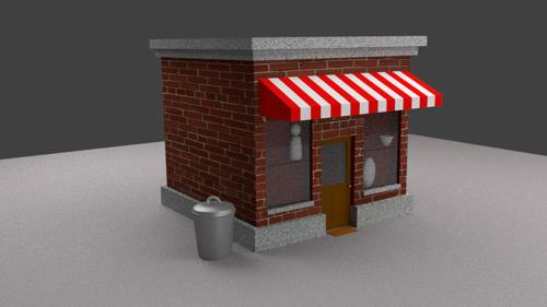 Small Street Shop or Store preview image