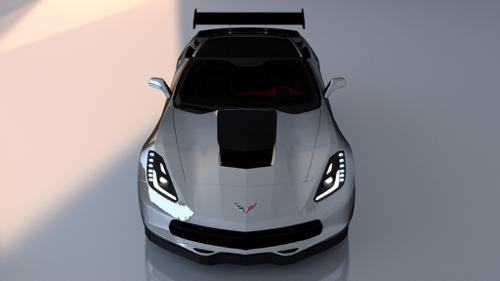 Custom Corvette Stingray Stock Car preview image