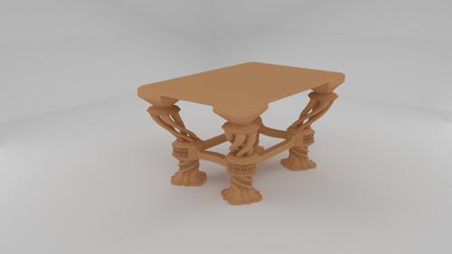 Table - Wooden theme preview image