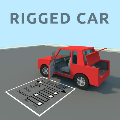 Rigged Car preview image