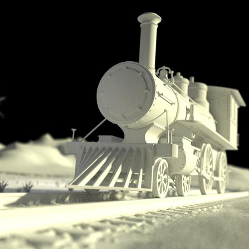 Steam Train - Mesh Only preview image