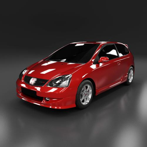 Honda Civic Type-R EP3 2005 preview image