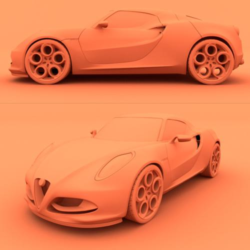 Alfa Romeo 4C preview image
