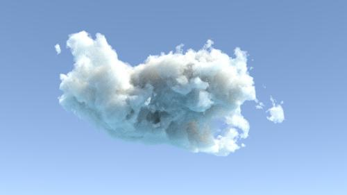 Procedural cycles Clouds shader. preview image