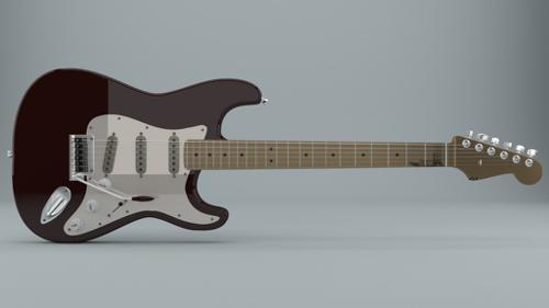 Fender Stratocaster for Cycles 2.72b preview image