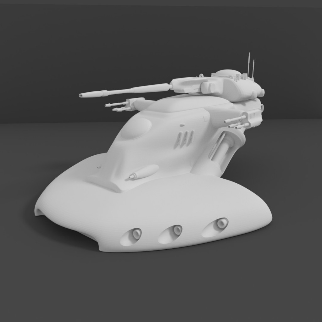 Trade Federation Tank preview image 1