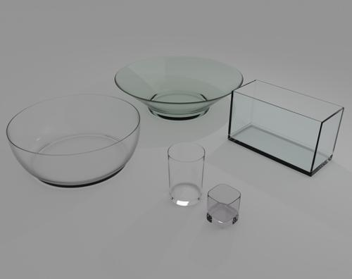 Glass Objects preview image