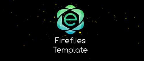 Fireflies Template preview image