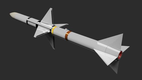 AIM-7E2 Sparrow Air Launched Radar Guided Missile preview image