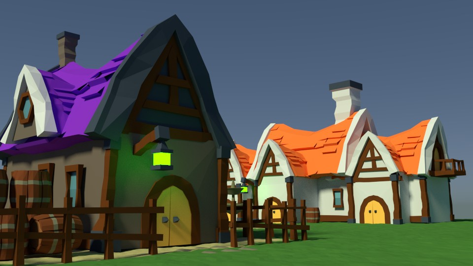 Medieval peasant village preview image 1