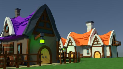 Medieval peasant village preview image