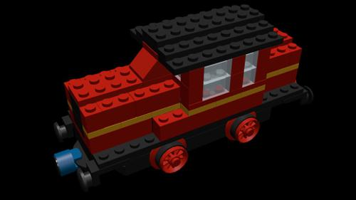 Lego 723-2 Diesel Train preview image