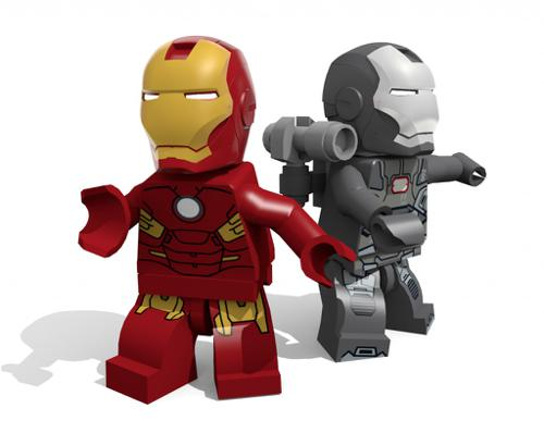 Lego Marvel Iron Man and Warmachine preview image