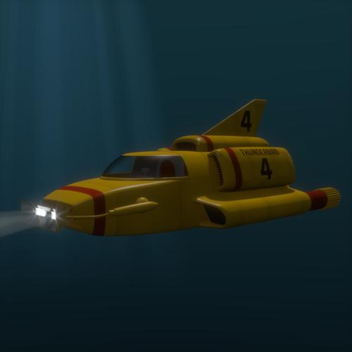 Thunderbird 4 (Internal Blender version) preview image