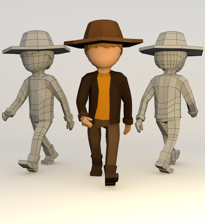 Simple Character (rigged) preview image 1