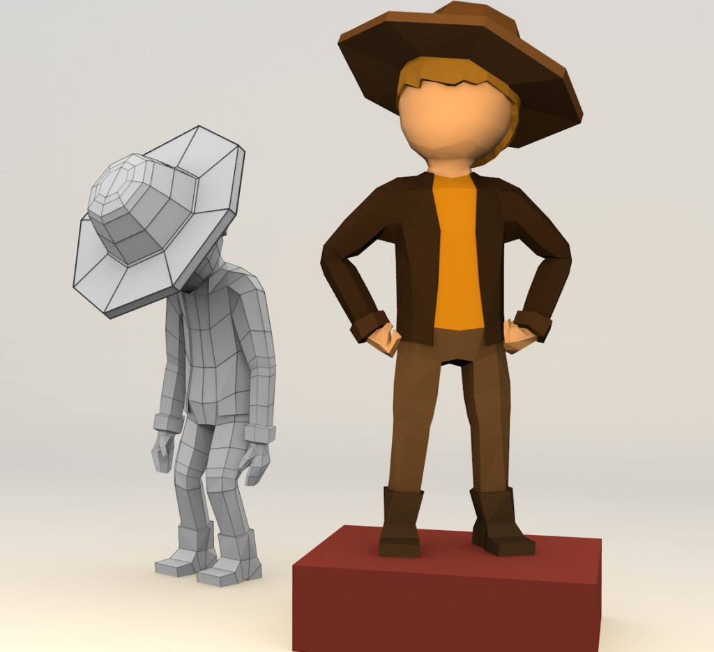 Simple Character (rigged) preview image 2