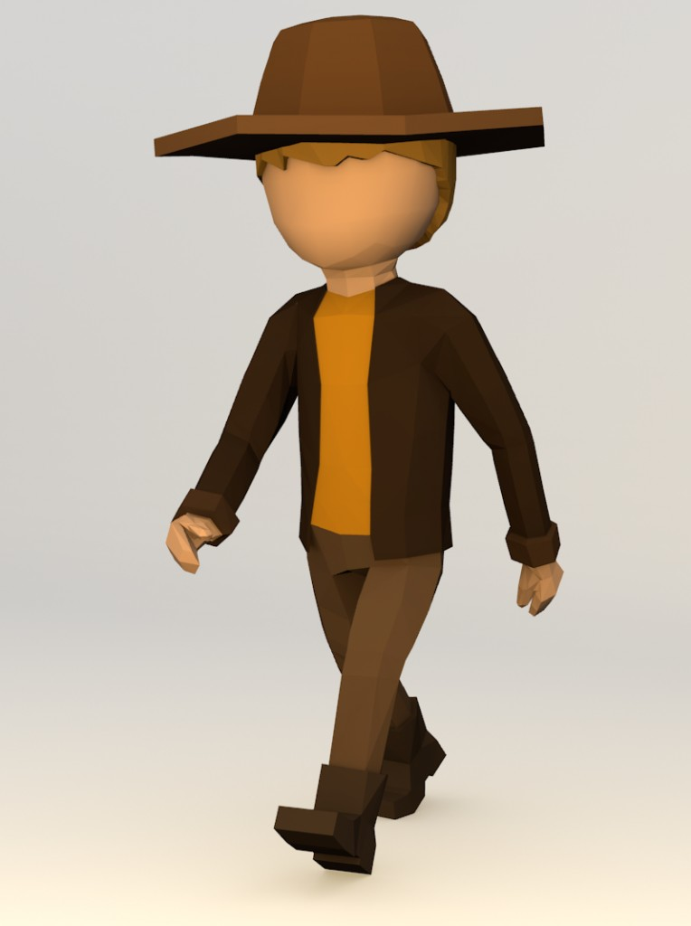 Simple Character (rigged) preview image 3