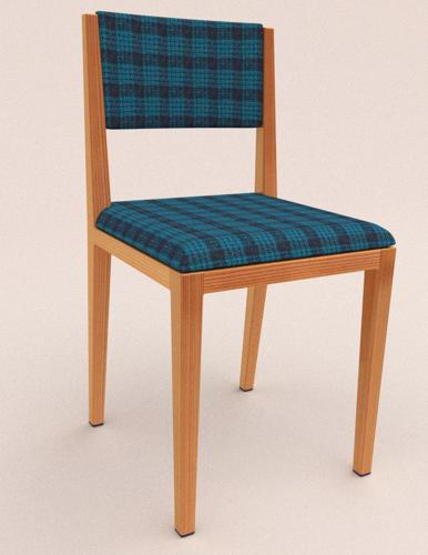 plaid chair preview image