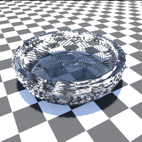 Crystal Ashtray preview image