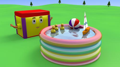 plastic kiddie pool preview image