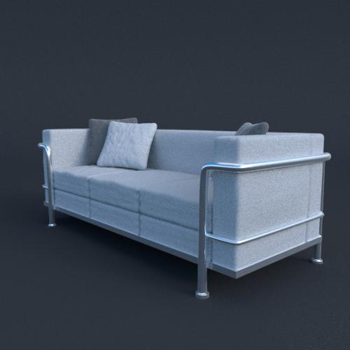 Contemporary Couch preview image