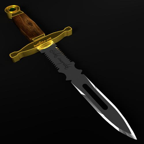 Dagger with Elven Writing preview image